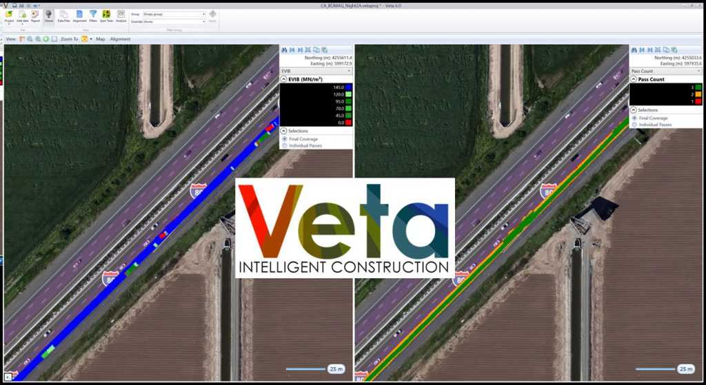 Veta split screen map option